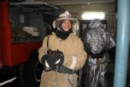 Экскурсия учеников Самборской школы в пожарную часть