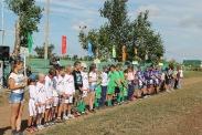 Районный турнир юных футболистов «Кожаный мяч»