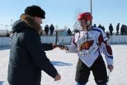 13-й межрайонный турнир по хоккею с шайбой на Кубок администрации Табунского района