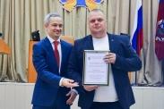 Церемония награждения лучших спортсменов и тренеров региона