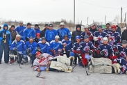 Турнир по хоккею с шайбой на кубок администрации Табунского района,